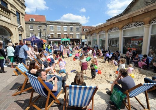 Wellingborough Market Square Beach